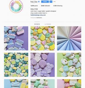 Consistent Instagram Color Scheme