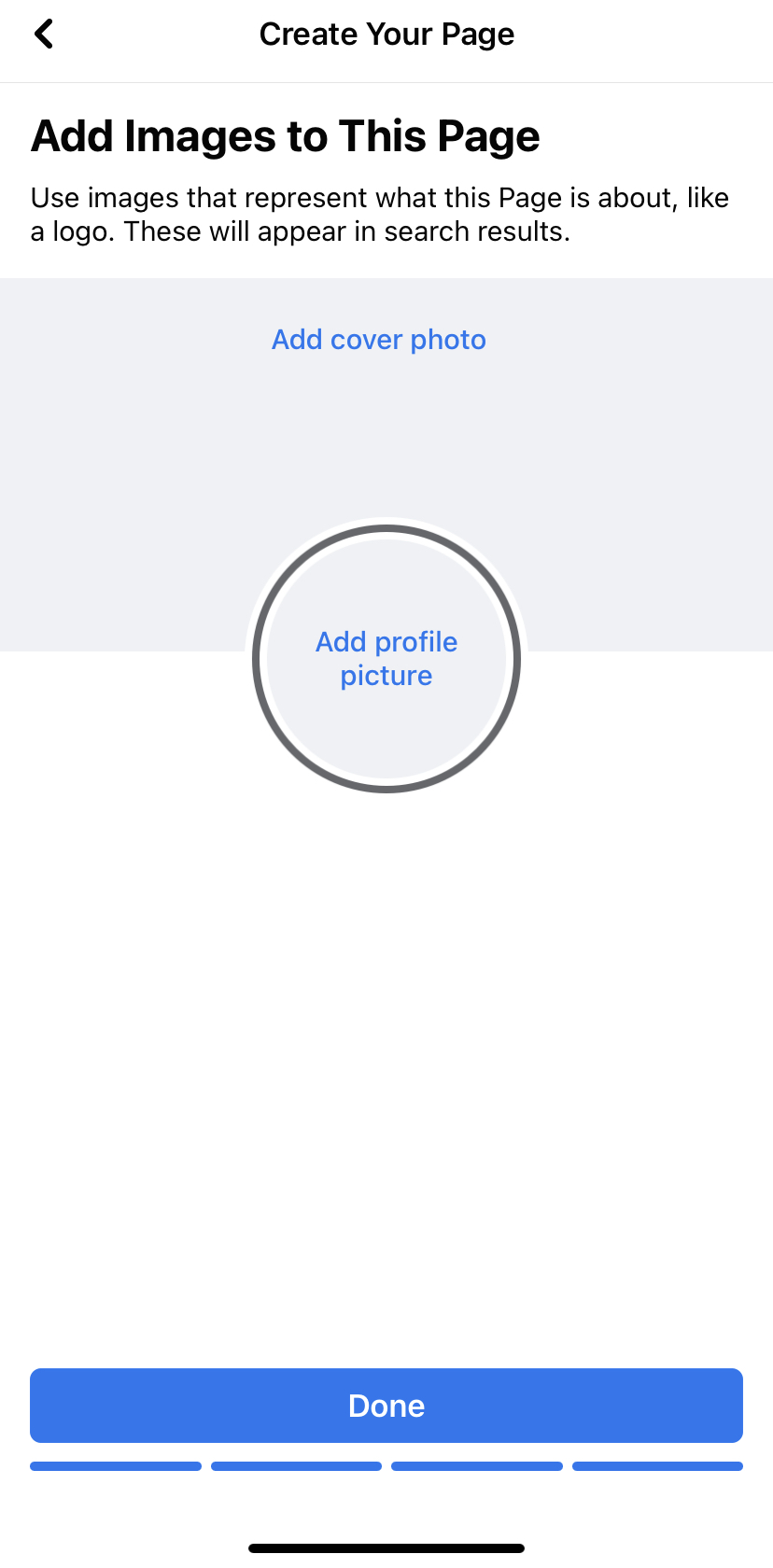 Facebook Business Page Mobile Profile Picture