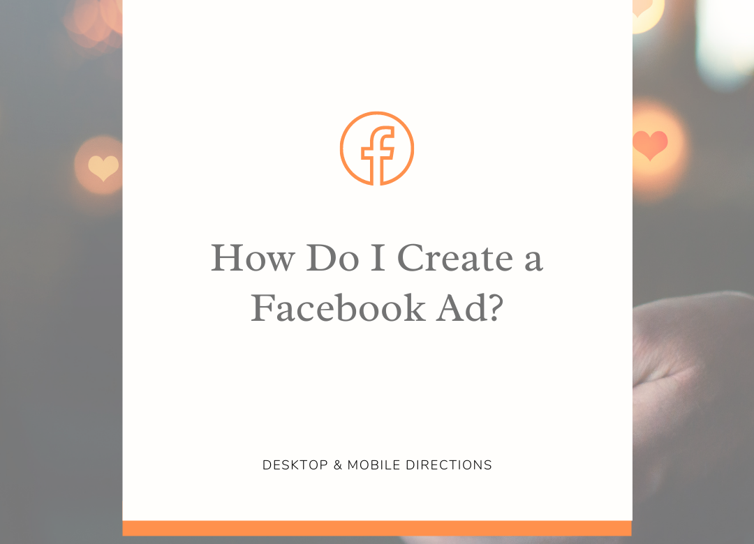 How do I create a Facebook Ad