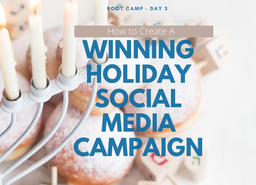 Winning Holiday Social Media